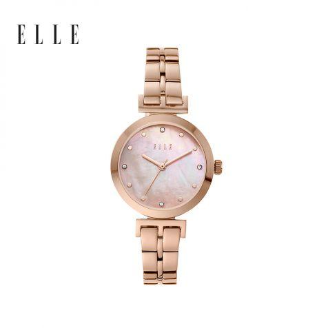 Đồng hồ nữ Elle Odeon thép không gỉ - rose gold