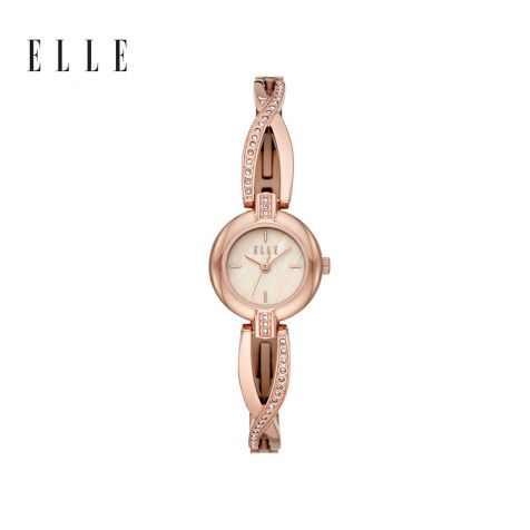 Đồng hồ nữ Elle Monge dây thép không gỉ- rose gold