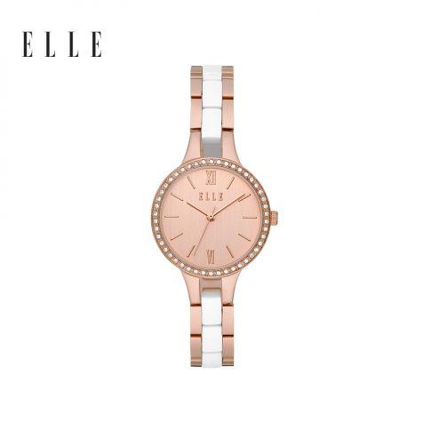 Đồng hồ nữ Elle Alesia thép không gỉ - rose gold