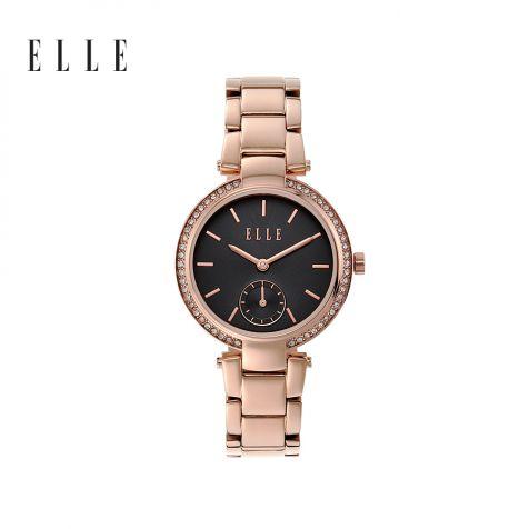 Đồng hồ nữ Elle Montmarte thép không gỉ- rose gold