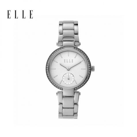 Đồng hồ thời trang nữ Elle Montmartre dây thép bạc
