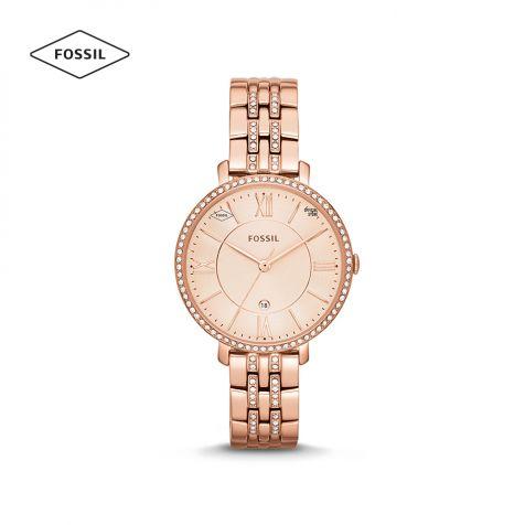 Đồng hồ nữ Fossil Jacqueline dây thép - rose gold