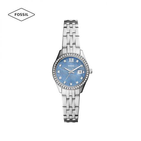 Đồng hồ nữ Fossil Scarlette dây thép - bạc