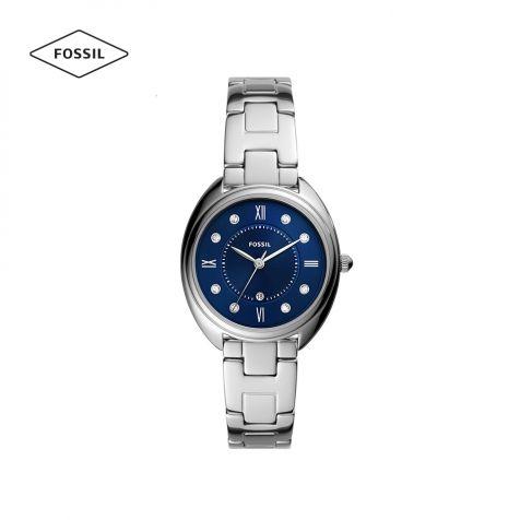 Đồng hồ nữ Fossil Gabby dây thép không gỉ - bạc