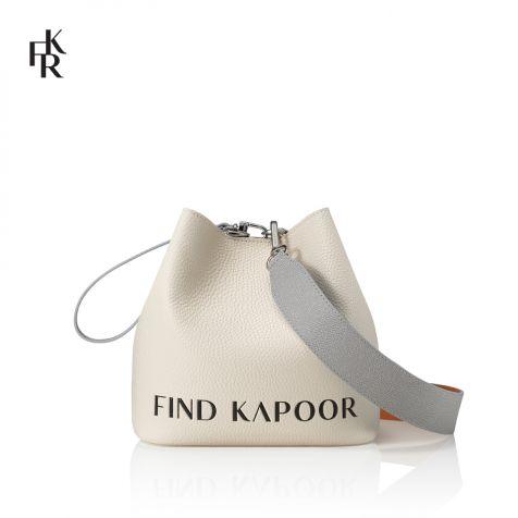 Túi xách nữ Find Kapoor Pingo Bag 20 Lettering ngà