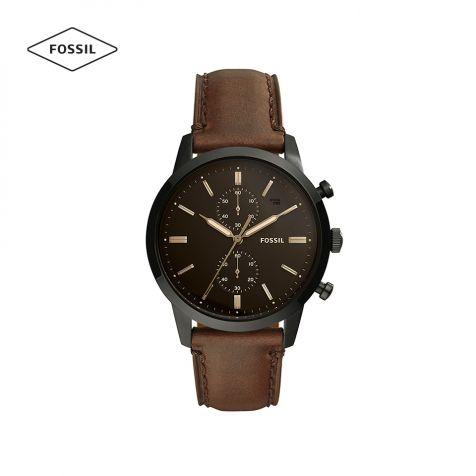 Đồng hồ nam Fossil Townsman FS5437 dây da - nâu