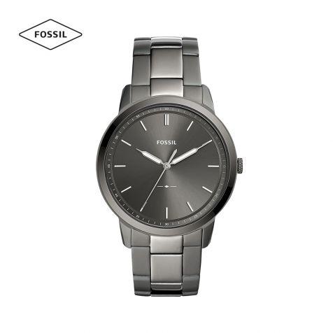 Đồng hồ nam Fossil The minimalist 3h dây thép- xám