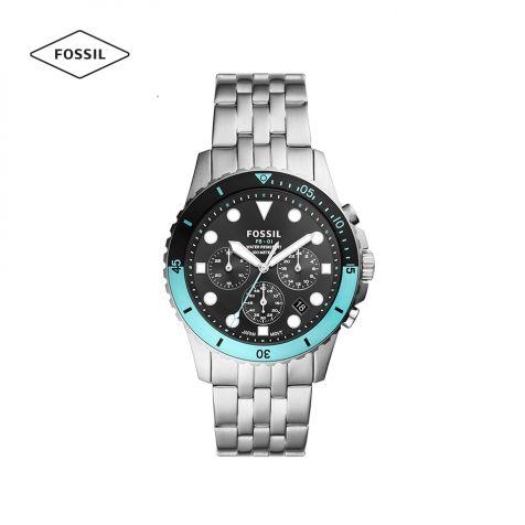 Đồng hồ nam Fossil FB-01 dây thép không gỉ - bạc