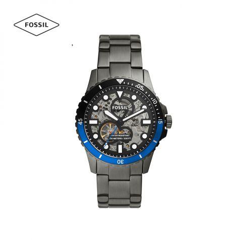 Đồng hồ nam Fossil FB-01 thép không gỉ - xám khói