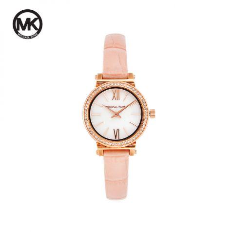 Đồng hồ nữ Michael Kors Sofie dây da MK2715 - hồng