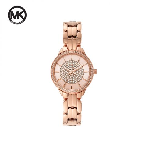 Đồng hồ nữ Michael Kors Allie dây thép - rose gold