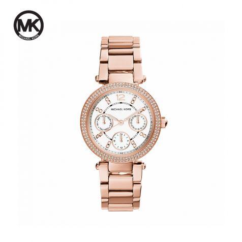 Đồng hồ nữ Michael Kors Parker dây thép- rose gold