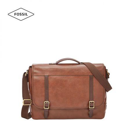 Túi xách nam Fossil Evan Messenger Bag - nâu