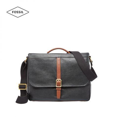 Túi xách nam Fossil Evan Messenger Bag - đen