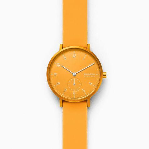 Đồng hồ nữ Skagen Aaren thép không gỉ - vàng
