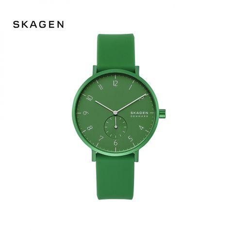 Đồng hồ nam Skagen Aaren thép không gỉ -  xanh lá