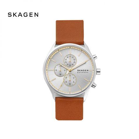 Đồng hồ nam Skagen Holst thép không gỉ - nâu