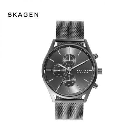 Đồng hồ nam Skagen Holst thép không gỉ - xám
