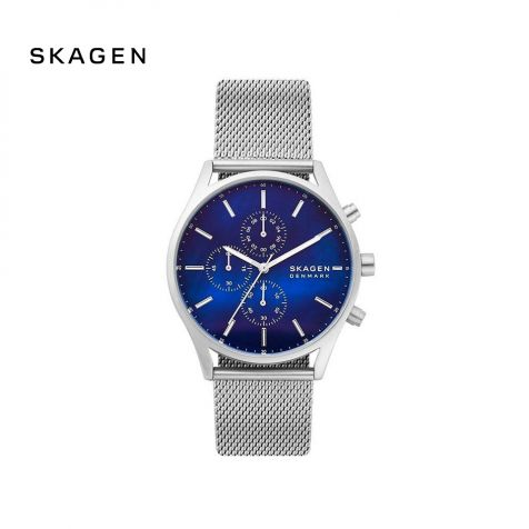 Đồng hồ nam Skagen Holst thép không gỉ - bạc