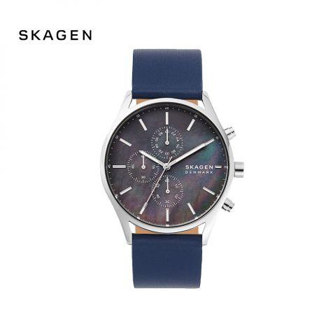 Đồng hồ nam Skagen Holst thép không gỉ- xanh dương
