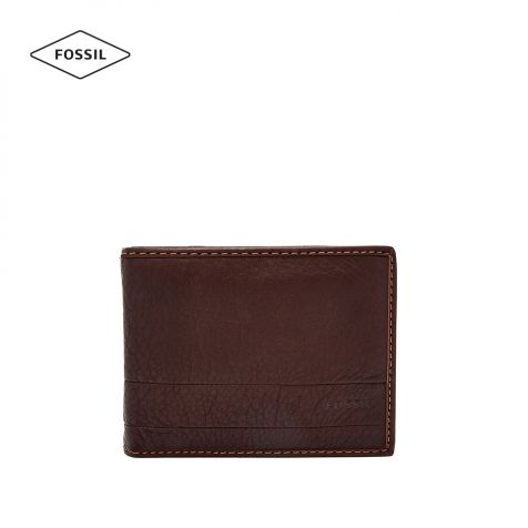 Ví thời trang nam Fossil Lufkin Wallet - nâu