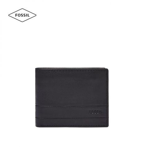 Ví thời trang nam Fossil Lufkin Card Case - đen