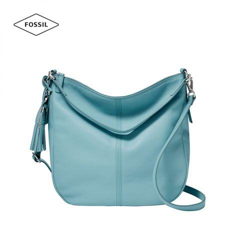 Túi xách nữ Fossil Jolie Hobo Bag - xanh dương