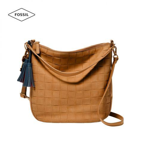 Túi xách nữ Fossil Jolie Hobo Bag - nâu vàng